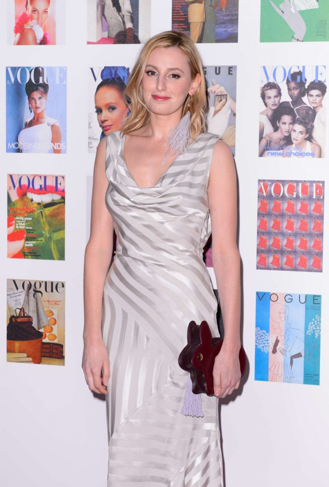 Laura Carmichael - British Vogue 100th Anniversary Gala Dinner in London