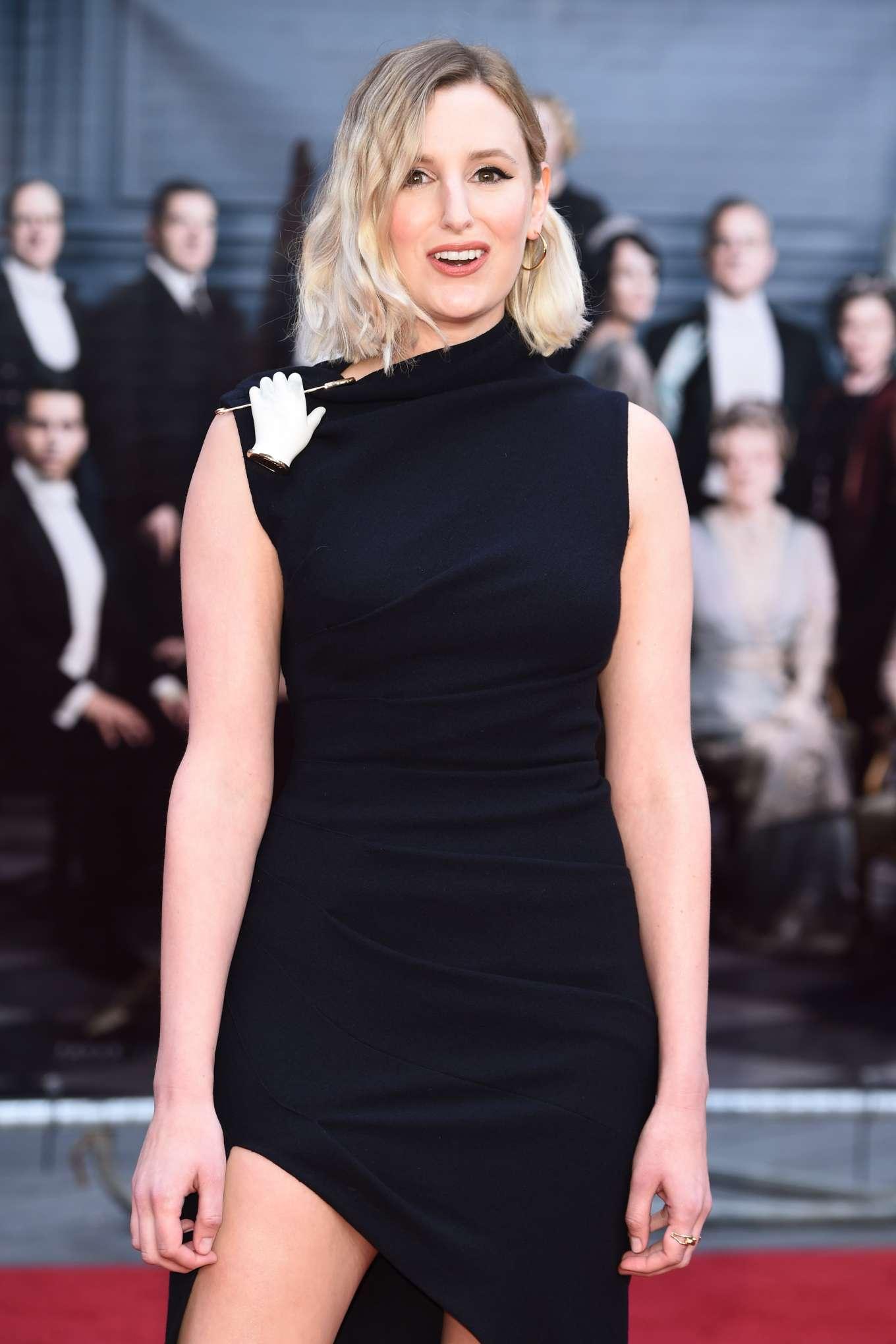 Laura Carmichael - 'Downton Abbey' Premiere in London