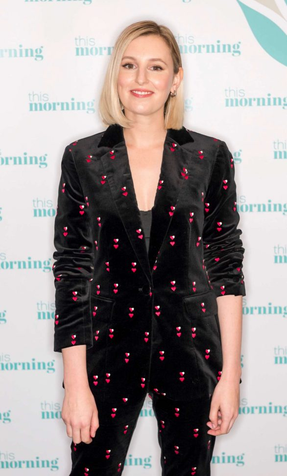 Laura Carmichael on 'This Morning' TV Show in London