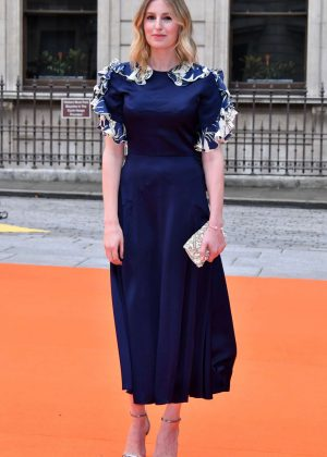 Laura Carmichael - Royal Academy of Arts Summer Exhibition VIP preview in London