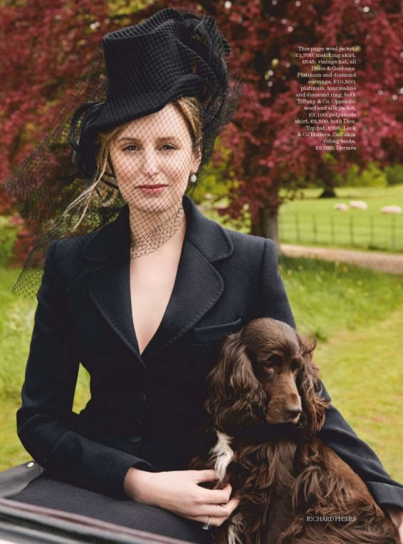 Laura Carmichael - Town and Country UK - Autumn 2019
