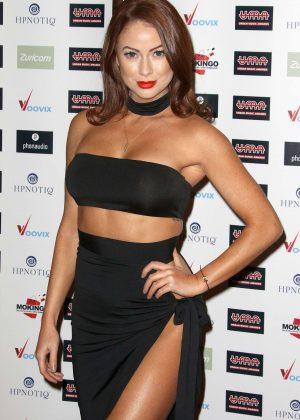 Laura Carter - Urban Music Awards 2016 in London