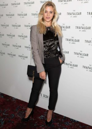 Laura Crane - The Trafalgar St James Launch Party in London