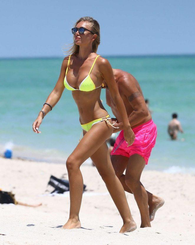 Laura Cremaschi – Hot In a bikini in Miami