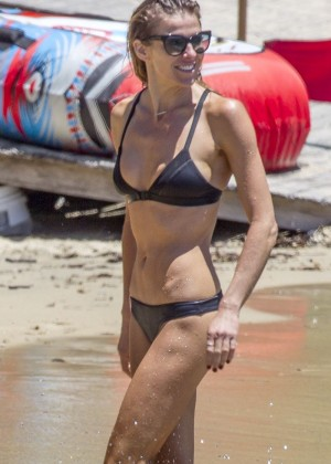 Laura Csortan in Bikini on Sydney Beach