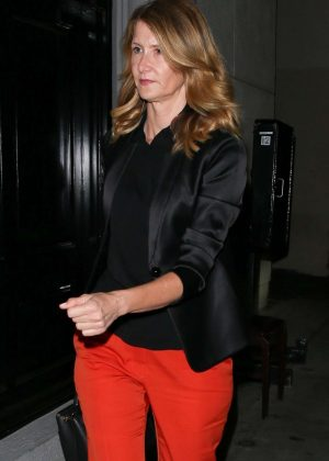 Laura Dern - Arrives at Craig's for dinner in West Hollywood