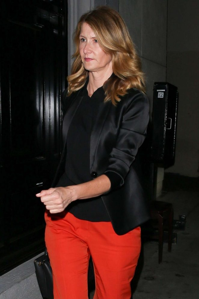 Laura Dern – Arrives at Craig's for dinner in West Hollywood