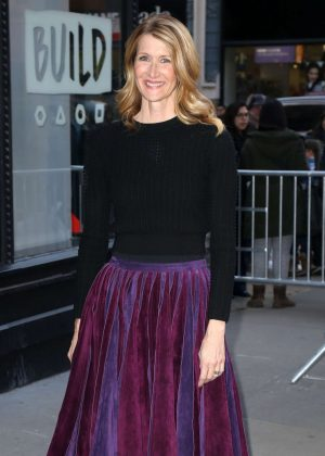 Laura Dern at AOLBuild in New York City