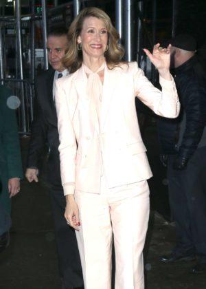 Laura Dern at 'Good Morning America' in New York City