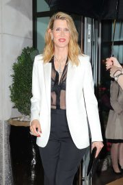 Laura Dern - Leaving The Whitby Hotel in New York