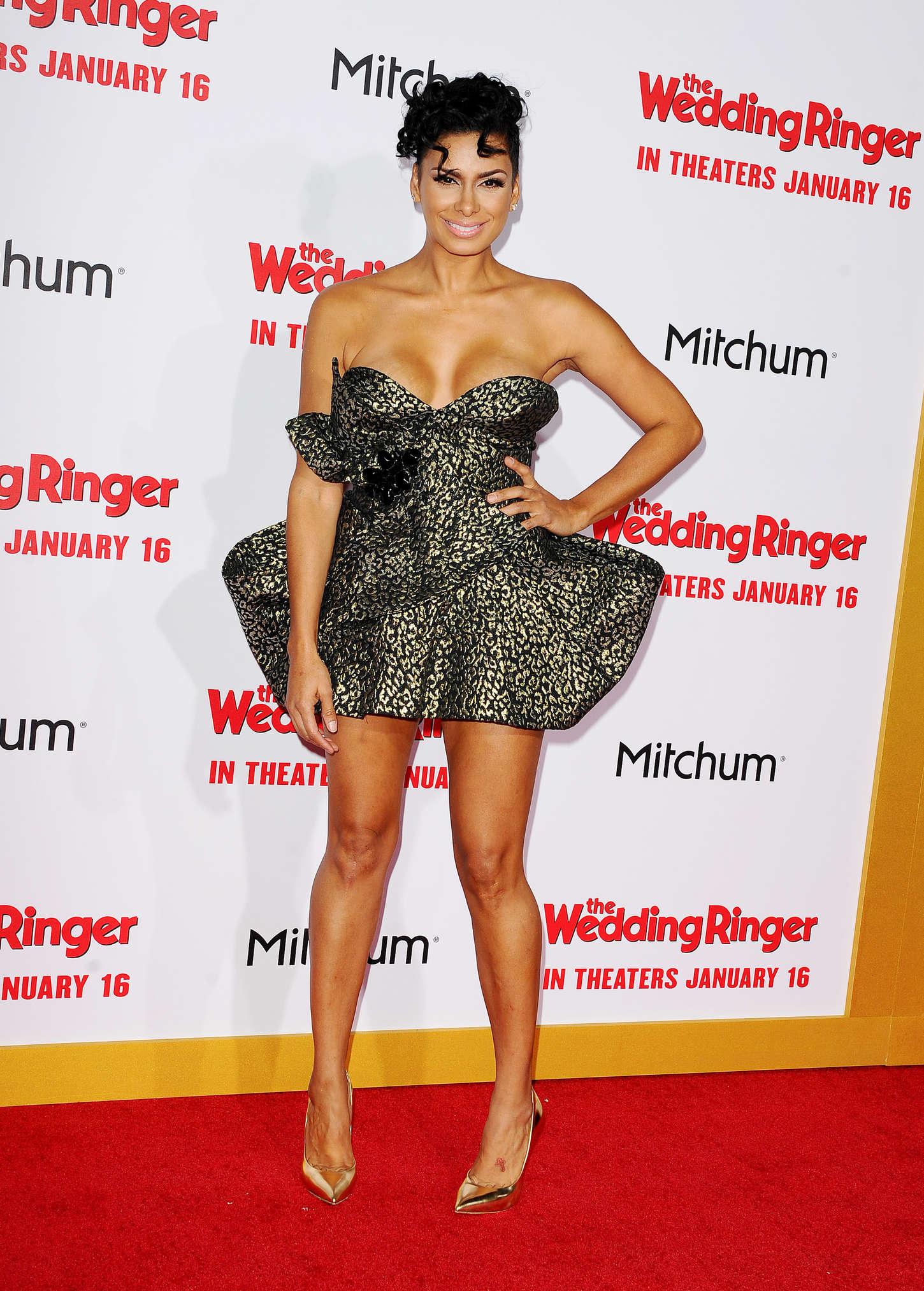 Laura govan the wedding ringer premiere in hollywood - Laura ashley madrid ...
