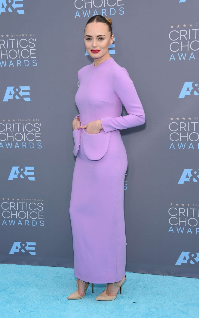 Laura Haddock - 2016 Critics' Choice Awards in Santa Monica