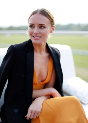 Laura Haddock - Audi Polo Challenge - Day One in Ascot