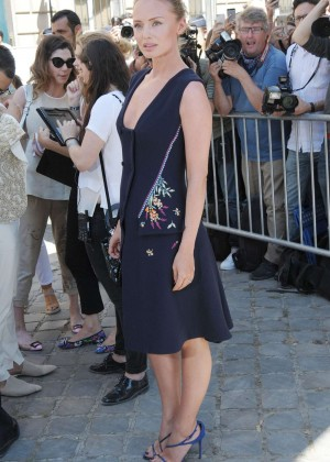 Laura Haddock - Christian Dior Show 2015 in Paris