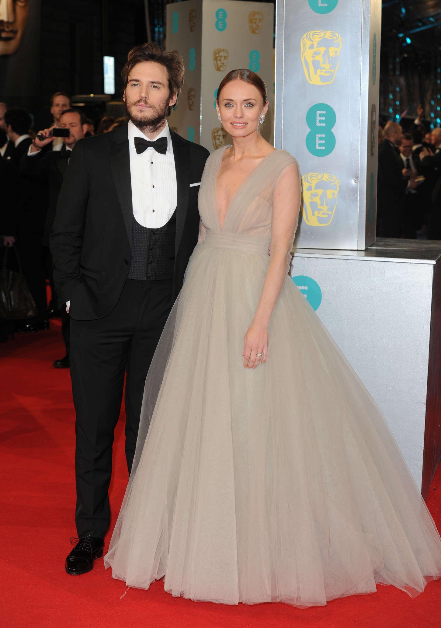 Laura Haddock 2015 : Laura Haddock: BAFTA Awards 2015 -04