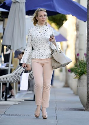 Laura Hamilton out and about in LA