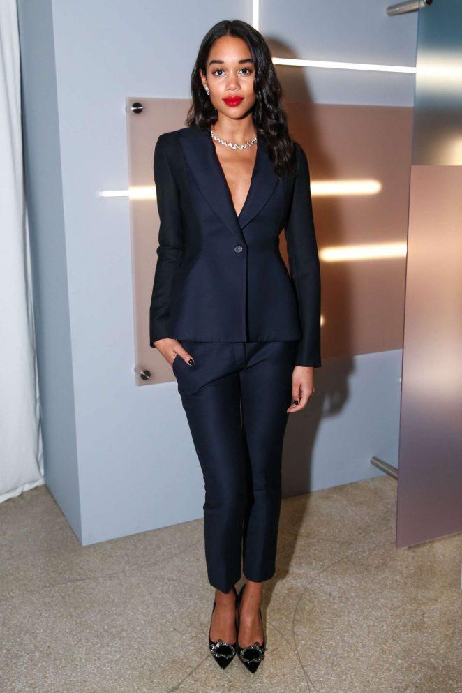 Laura Harrier - 2016 Guggenheim International Gala Dior Party in NYC