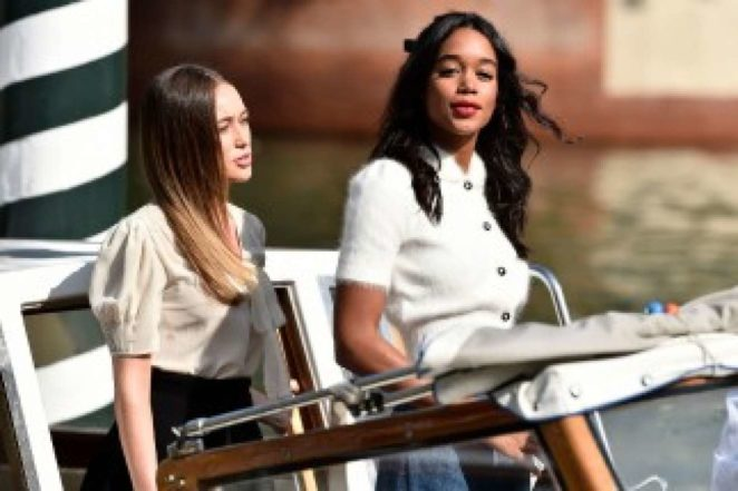 Laura Harrier and Alycia Debnam-Carey - Seen out in Venice
