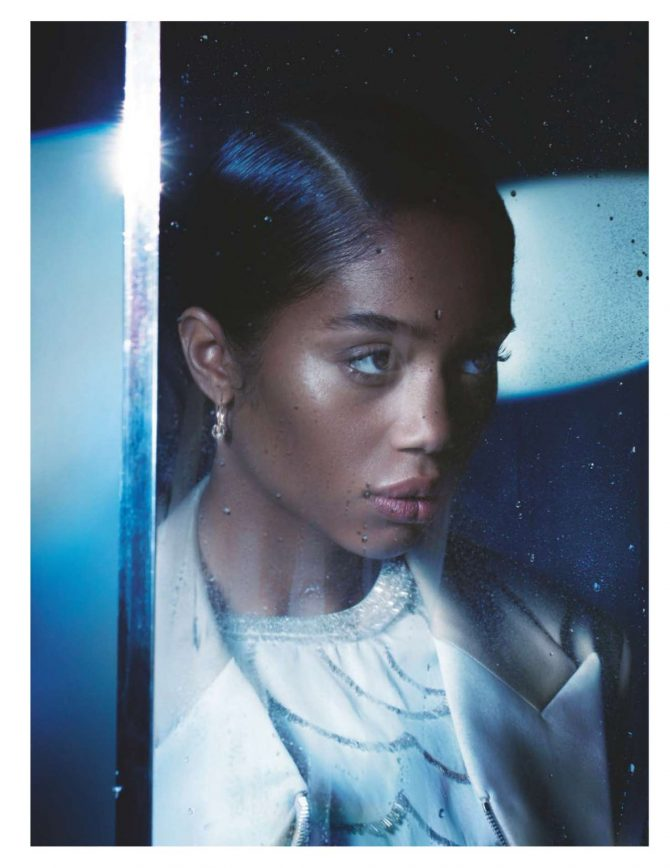 Laura Harrier – British Vogue Magazine (February 2019)