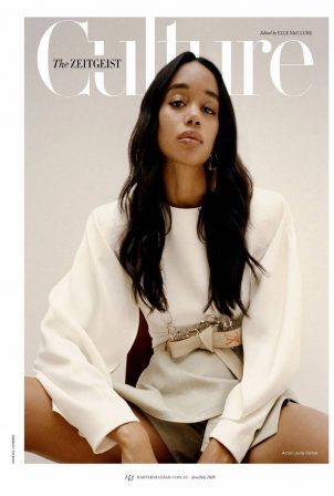 Laura Harrier - Harper's Bazaar Australia (June/July 2020)