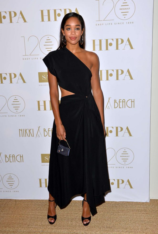 Laura Harrier - HFPA Party at 2018 Cannes Film Festival