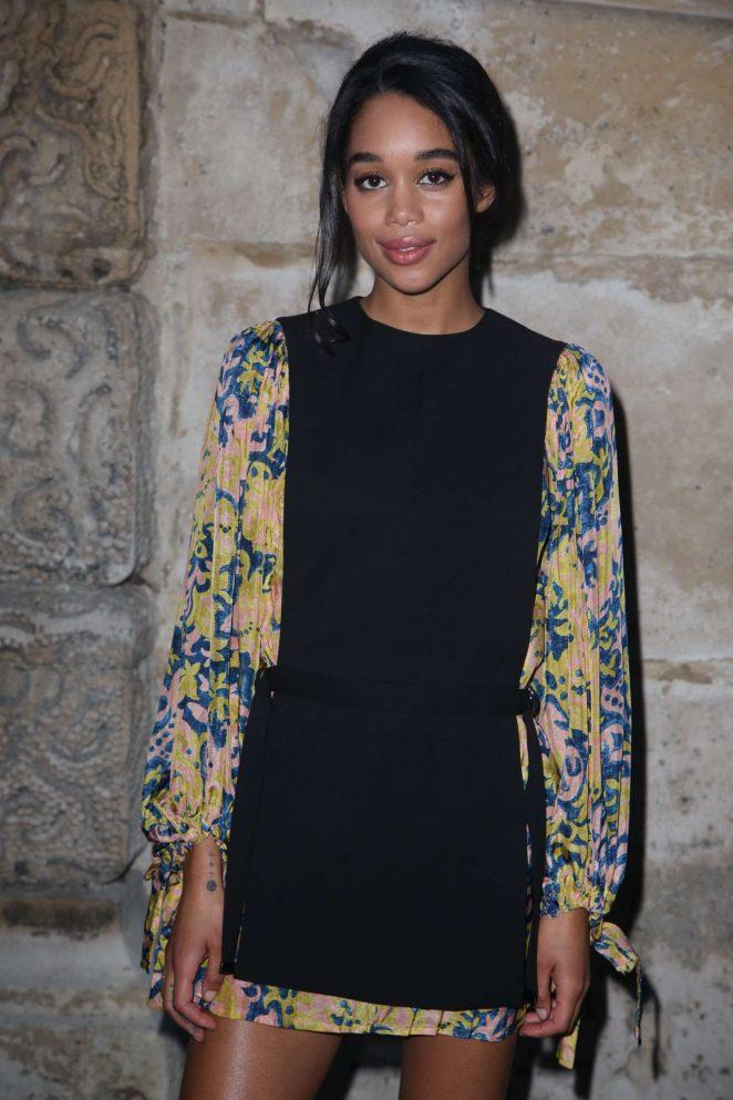 Laura Harrier - Louis Vuitton Fashion Show 2018 in Paris