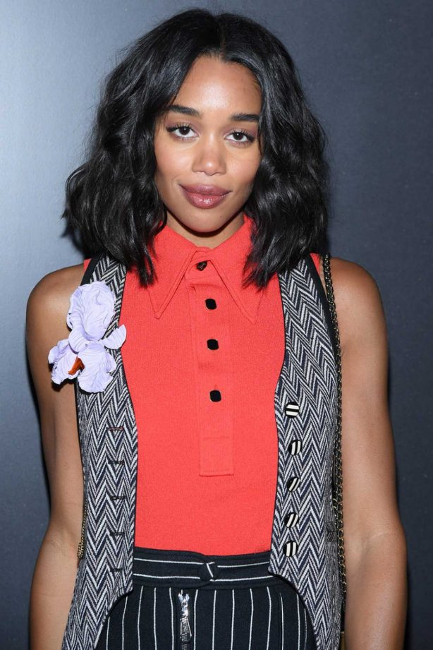 Laura Harrier - Louis Vuitton show at 2020 Paris Fashion Week Womenswear F-W 20-21