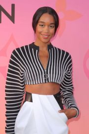 Laura Harrier - Opening of Louis Vuitton x Cocktail Party in Los Angeles