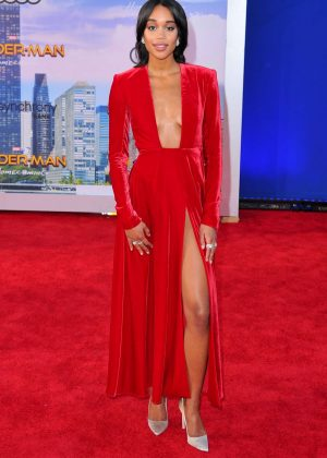 Laura Harrier - 'Spider-Man: Homecoming' Premiere in Hollywood