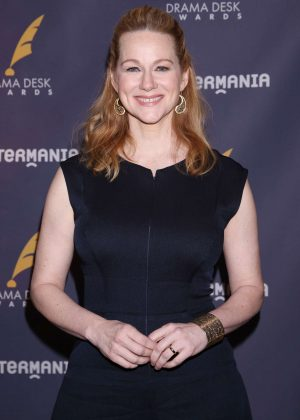 Laura Linney - 2017 Drama Desk Nominees Reception in New York