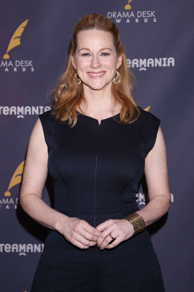 Laura Linney - 2017 Drama Desk Nominees Reception in New York