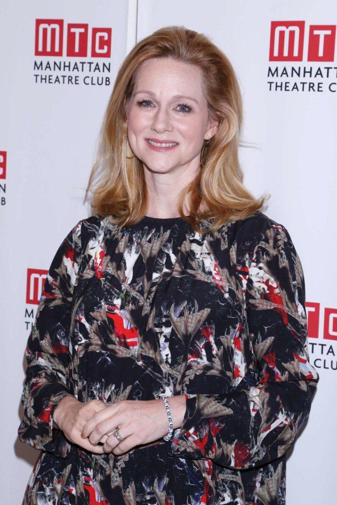 Laura Linney – Manhattan Theatre Club Fall Benefit in NYC