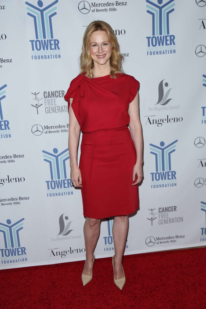 Laura Linney: Tower Cancer Research Foundations Tower Of Hope Gala -05