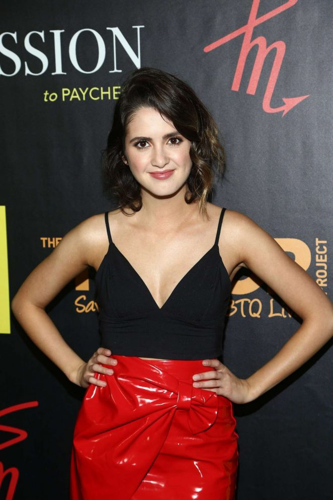 Laura Marano - AJ Gibson's 'Flipping The Script' Book Launch in Beverly Hills