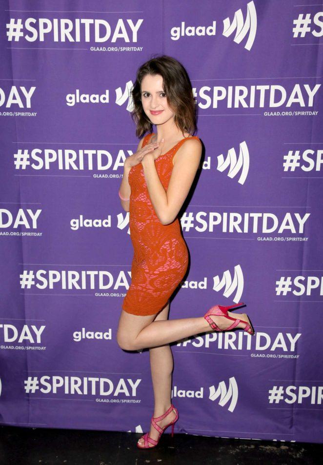 Laura Marano - Justin Tranter and GLAAD Present 'Believer' Spirit Day Concert in LA