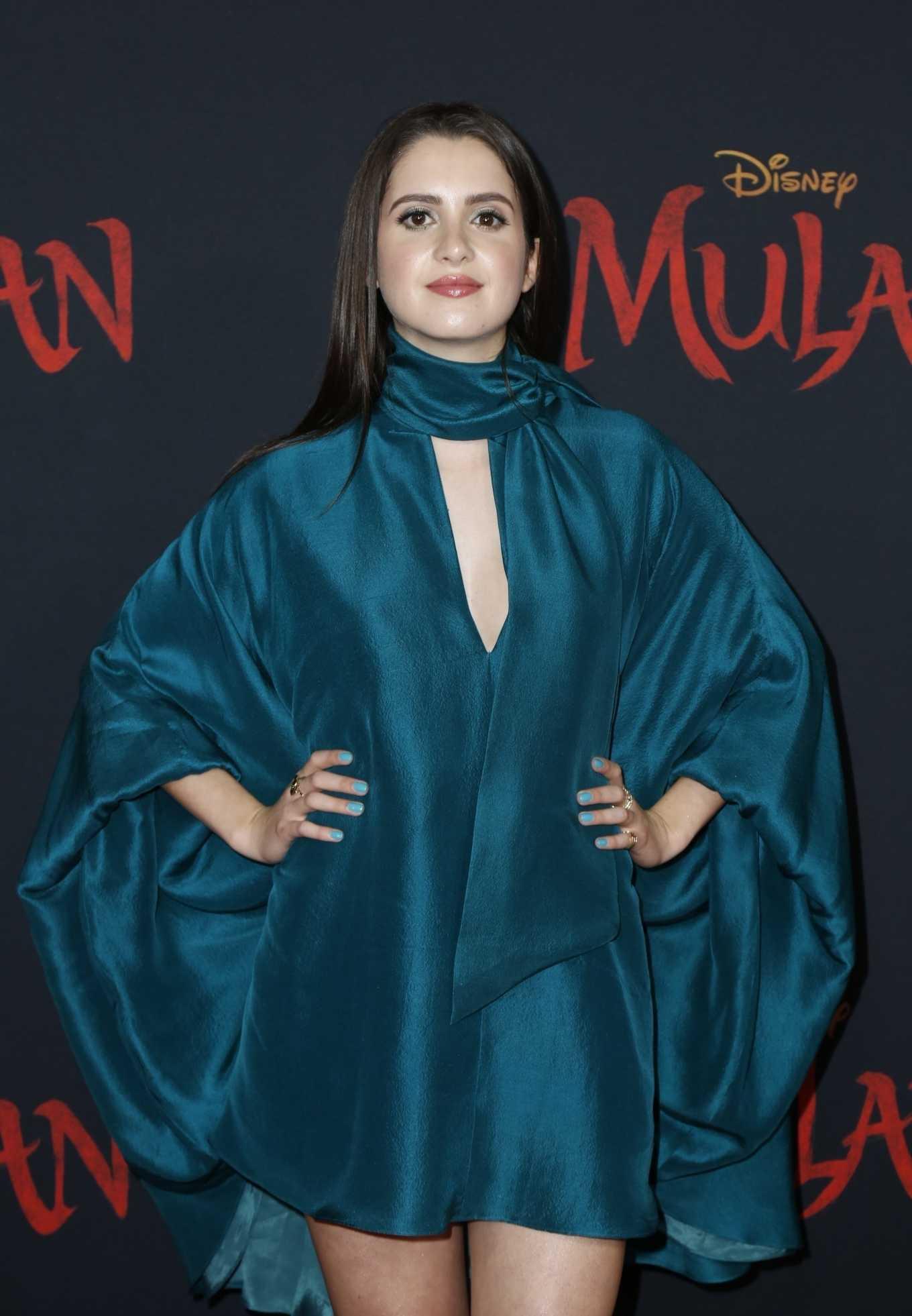 Laura Marano - 'Mulan' Premiere in Hollywood