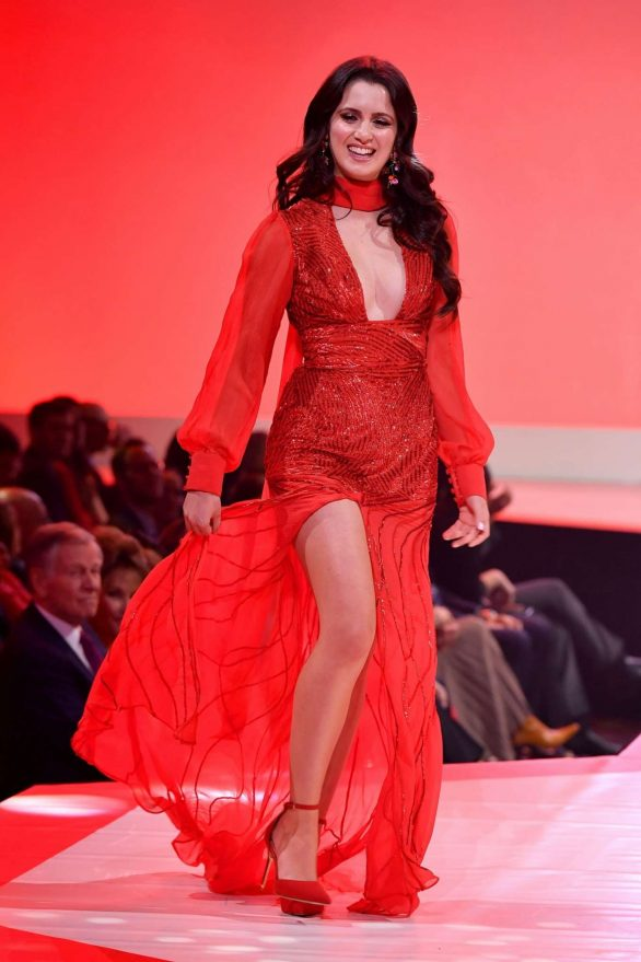 Laura Marano - The American Red Heart Association's Go Red For Women Red Dress Collection in NY
