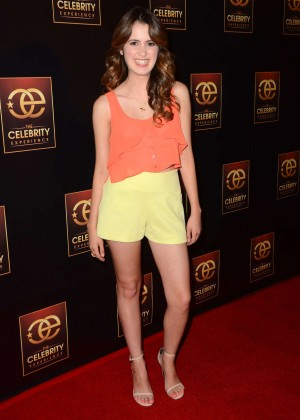 Laura Marano - The Celebrity Experience Panel in Universal City