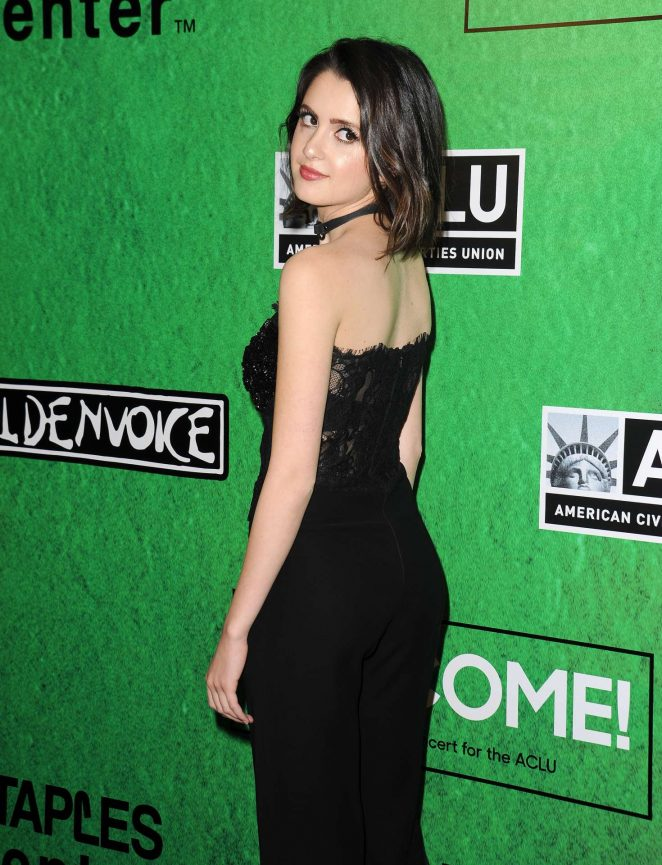Laura Marano - Zedd's Welcome! ACLU Benefit Concert in Los Angeles