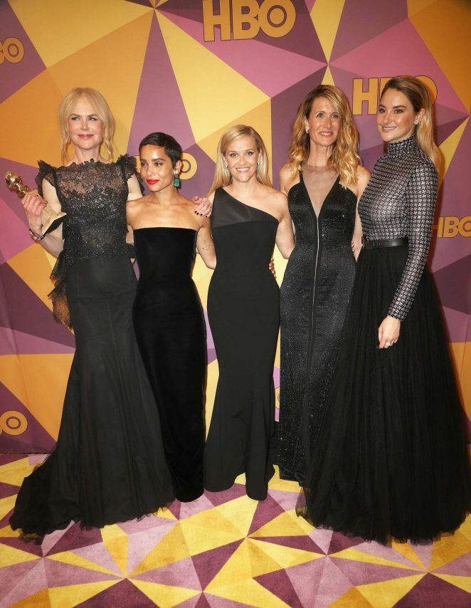 Laura Nicole Zoe Reese and Shailene - HBO's Official Golden Globe Awards After Party in LA