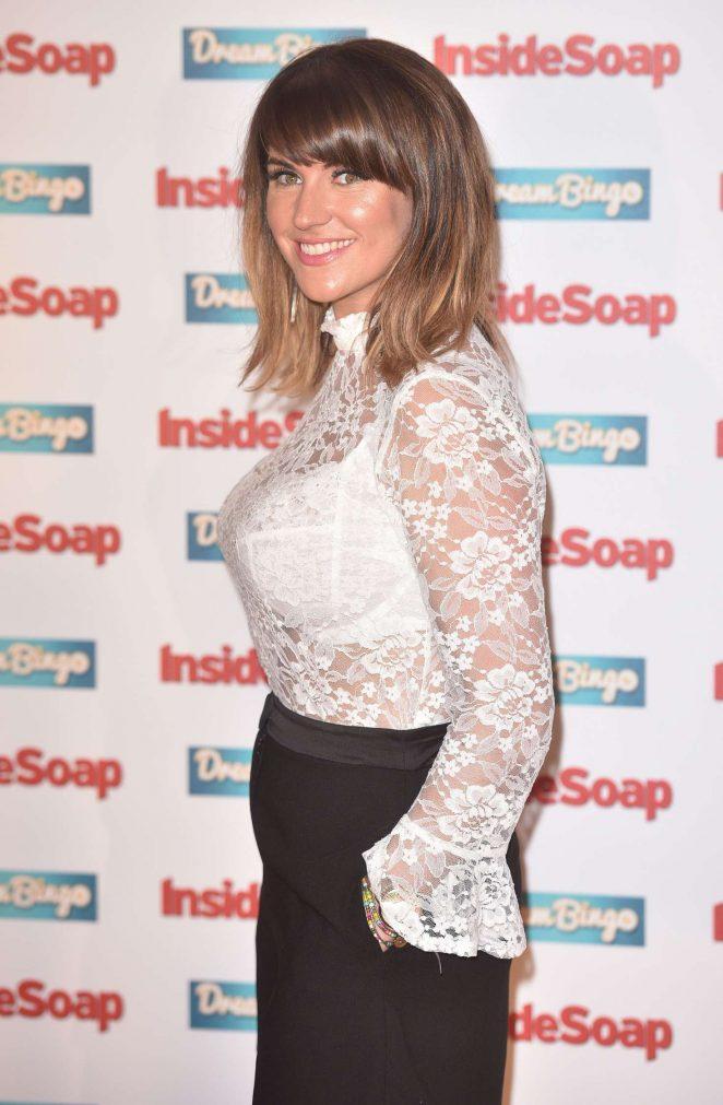 Laura Norton - Inside Soap Awards 2016 in London