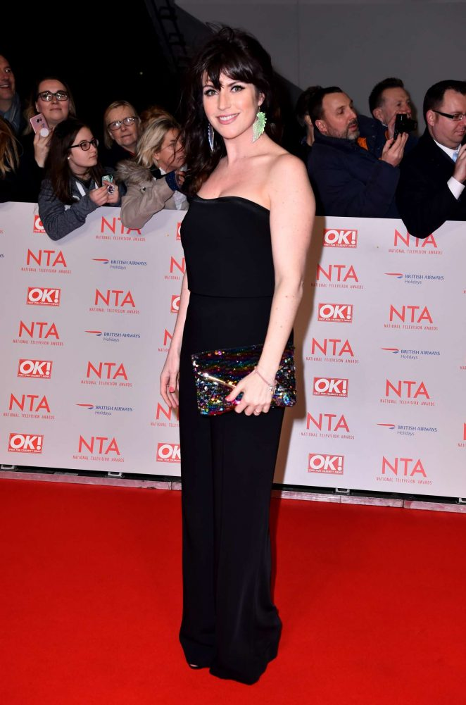 Laura Norton - National Television Awards 2018 in London