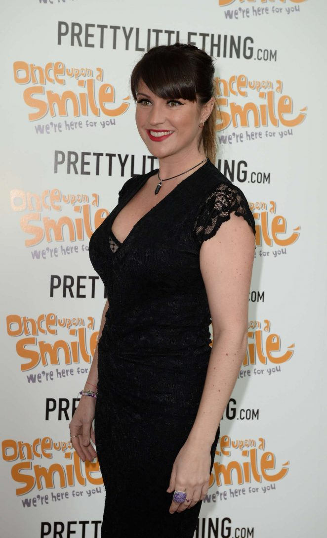 Laura Norton - Once Upon A Smile Grand Ball 2017 in Manchester