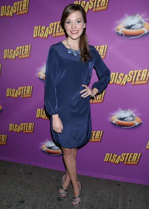 Laura Osnes - 'Disaster' Broadway Opening Night in NY