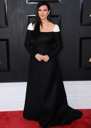 Laura Pausini - 59th GRAMMY Awards in Los Angeles