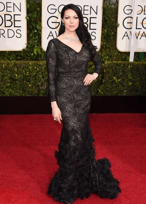 Laura Prepon - 2015 Golden Globe Awards in Beverly Hills