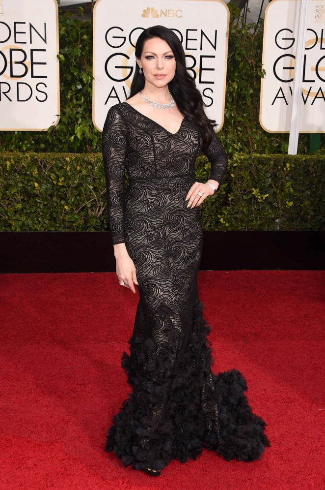 Laura Prepon – 72nd Annual Golden Globe Awards in Beverly Hills
