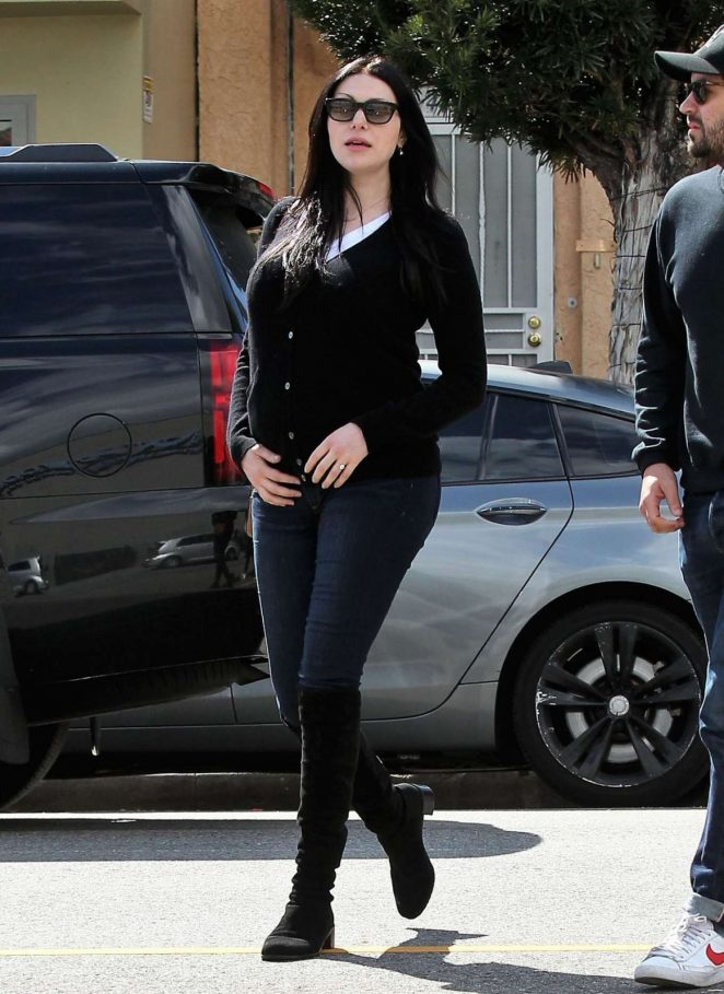 Laura Prepon in Jeans out in Silver Lake