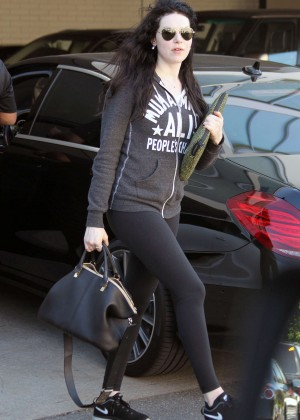 Laura Prepon in Tights Out and about in LA