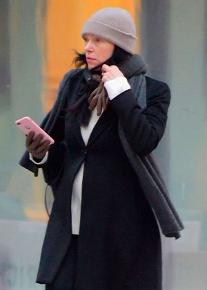 Laura Prepon - Out and about in New York
